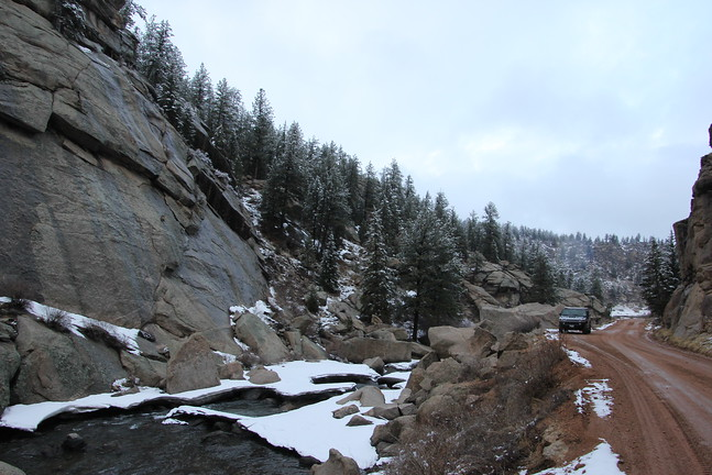 11-mile Canyon Road
